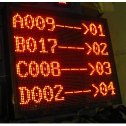 Display Eliminacode Principale per sala d'attesa a 4 righe (Wireless)